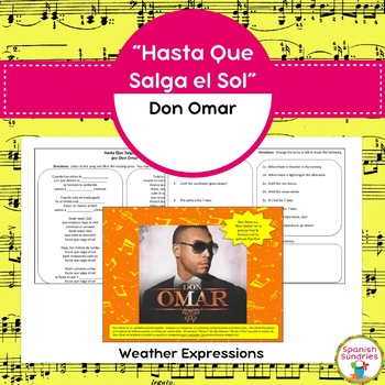 """Hasta Que Salga el Sol"" & Weather Expressions"