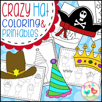 Hat Coloring and Printables