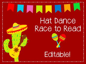 Hat Dance EDITABLE game board