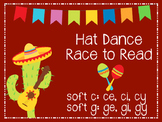 Hat Dance Race to Read: ce, ci, cy, ge, gi, gy