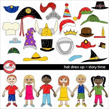 Hat Dress Up -Story Time by Poppydreamz