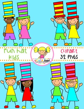 Hat Kids Clipart