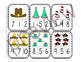 Hat Number Clip Cards