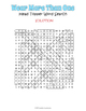 Hat Word Search Puzzle