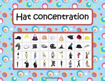 Match the hat: a memory game