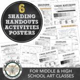 Hatch, Cross Hatch, Stippling, Blending, & Scribbling: Shading Basics & Review