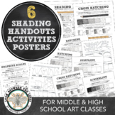 Hatch, Cross Hatch, Stippling, Blending, & Scribbling: Shading Basics & Review