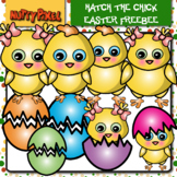 Hatch The Chick Easter Clip Art Freebee