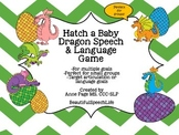 Hatch a Baby Dragon Speech and Language Game