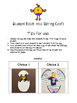 Hatch into Spring Writing Activities