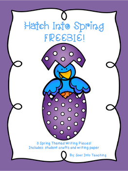 Hatch into Spring Writing Activity