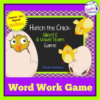 Vowel Teams Game | Silent E Game | Hatch the Chick