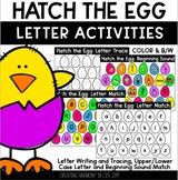 #loveliteracy Hatch the Egg: Letter Activities