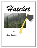 Hatchet A Lapbook and Book Report