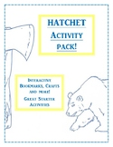 Hatchet Activity Packs! Bring the Book to Life!