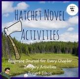 Hatchet Novel Activities