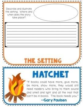 hatchet writing prompts