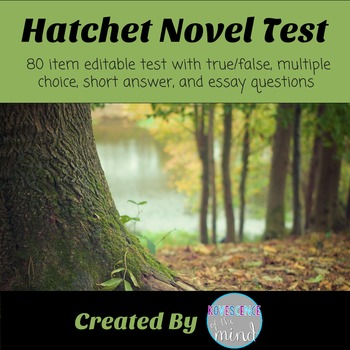 hatchet book test of questions answers by kovescence of  hatchet book test of 88 questions answers