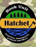 Hatchet Book Unit / Literature Guide / Novel Study
