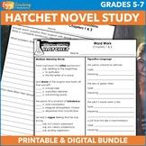 Hatchet Unit - Comprehensive Novel Study