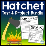 Hatchet Bundle: Hatchet Test (4-Pages) & Hatchet Final Project (Book Brochure)