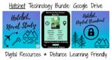 Hatchet Bundle: Novel Study, Digital Breakout, and Hyperdoc