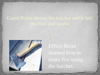 Hatchet: Cause & Effect