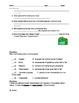 Hatchet Ch. 1-8 assessment Alternate