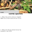 Hatchet Chapter 2