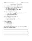 Hatchet Chapter 2 Quick Quiz