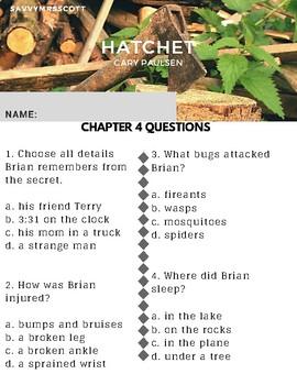 Hatchet Chapter 4