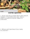 Hatchet Chapter 6