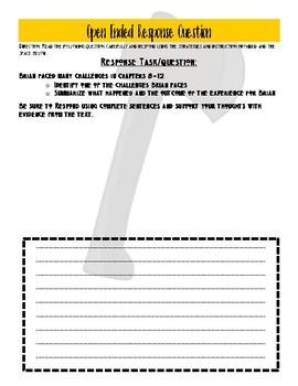 Hatchet Chapter 8-12 Quiz: Multiple Choice Quiz/OER