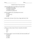 Hatchet Chapter 3 Quick Quiz