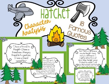 Hatchet: Character Analysis with Quotes