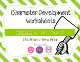 Hatchet: Character Development Graphic Organizers (Old v New Brian)