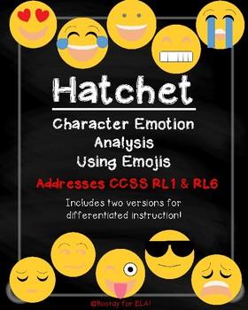 Hatchet Character Emoji Activity
