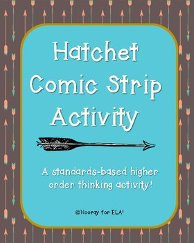 Hatchet Comic Strip Activity