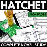 Hatchet Novel Study | Gary Paulsen Hatchet Unit | Chapter