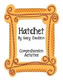 Hatchet Comprehension Activities