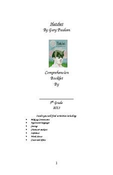 Hatchet Comprehension Booklet