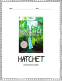 Hatchet Comprehension Packet