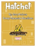 Hatchet Comprehension Questions