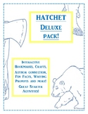 Hatchet Deluxe Pack! Bookmarks, Fun Facts, Author Connecti