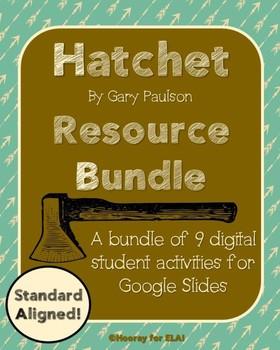 Hatchet Digital Activity Packet for Google Slides