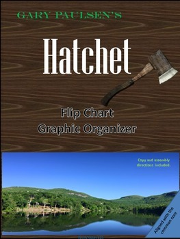 Hatchet Elements of Fiction Flip Book Graphic Organizer