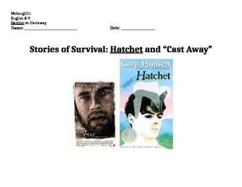 hatchet essays movie comparison cast away by special education  hatchet essays movie comparison cast away