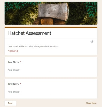 Hatchet: Final Assessment