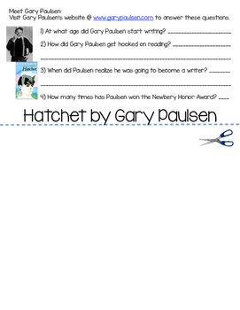 Hatchet Flipbook (a complete novel guide)