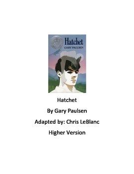 Hatchet - Gary Paulsen - Adapted Version